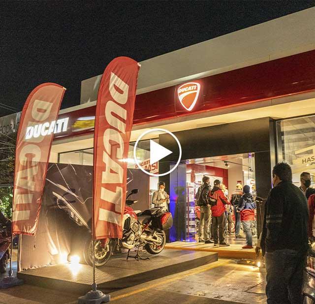 Presentación Ducati Multistrada V4 2021 en Ducati Guadalajara
